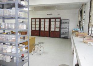 Pharmacognosy Lab with museum